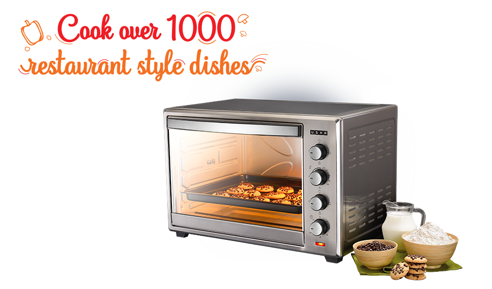 Oven Toaster Griller USHA  OTGW 3760RCSS