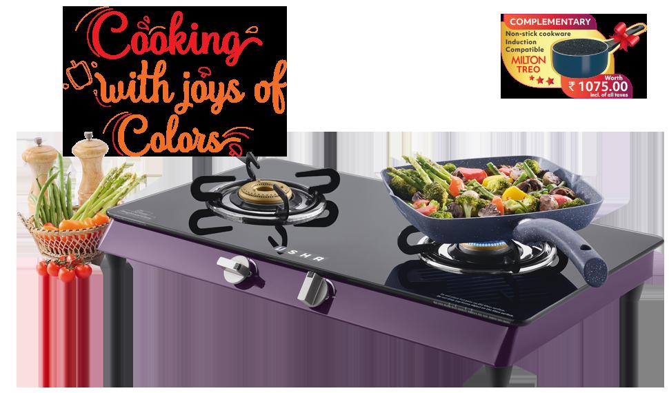 Cooktop Lustra 2 burner- Round Pan Tray