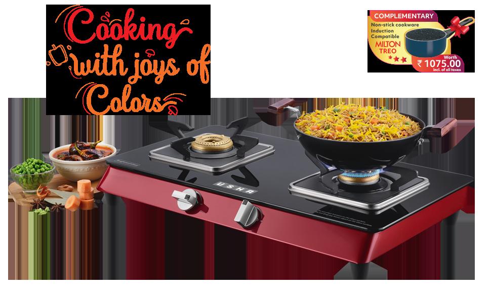 Cooktop Lustra Compact 2 burner- Square Pan Tray
